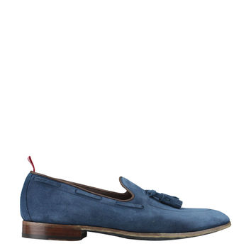 Green George Suede Light Wash loafer