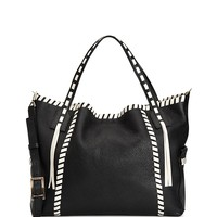 AquataliaEmery Lacing Leather Tote