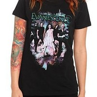 Evanescence Group Girls T-Shirt - 148393