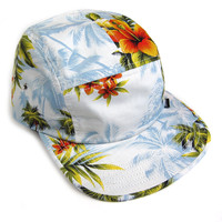 Quiet Life: Hawaiian 5 Panel Hat - All Over