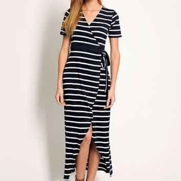 Polo Match Striped Dress