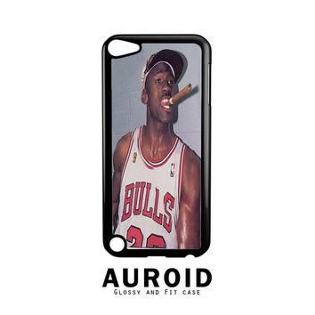 Michael Jordan Cigar iPod Touch 4 | 5 Case Auroid