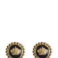 Enamel Status Coin Stud Earring by Juicy Couture, O/S
