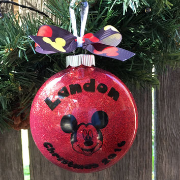 mickey mouse gifts for kids - kids ornaments - Custom christmas ornaments - mickey mouse christmas ornaments - custom ornaments - christmas