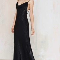 Rise of Dawn Moss is Boss Maxi Slip Dress
