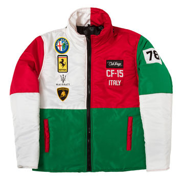 Club Foreign Italy Bubble Jacket with Detachable Hood