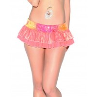 Coral Crush DiscoCheekz Skirt