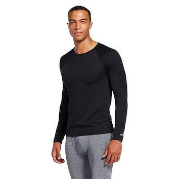 C9 by Champion Men's Thermal Adaptive Technology Thermal Shirt, Black, Small