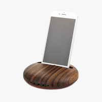 Phone Wooden Iphone Phone Holder Stand [9252861388]