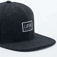 Lifers Neppy Snapback Cap in Black - Urban Outfitters