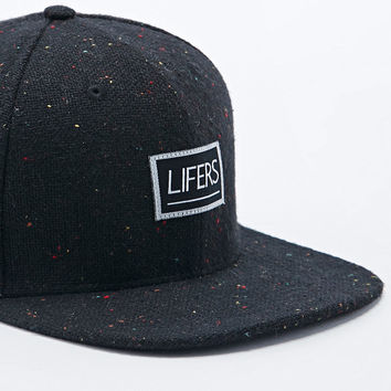 28c9b6d67c3 Lifers Neppy Snapback Cap in Black - from Urban Outfitters