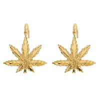 Ganja Goddess Hoop Earrings