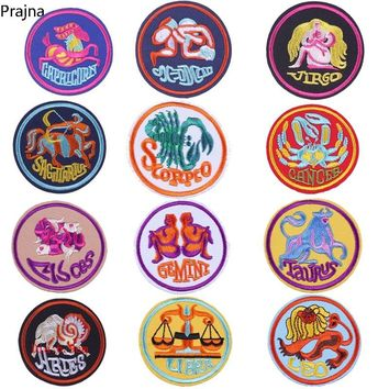 Prajna Stranger Things Champions League Patch Iron On Sewing Patch Cloth Fabric Hippie Embroidered Patches For Clothes Stickers