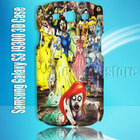 Disney Princess Zombie  Samsung Galaxy S3 I9300 3D Case