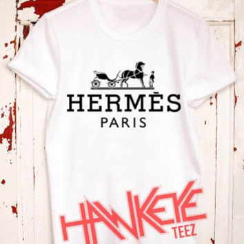 hermes logo T shirt Mens and T shirt Womens Size (S up to 3XL)