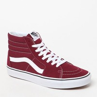 Vans Women's Burgundy Sk8-Hi Sneakers at PacSun.com - burgundy | PacSun