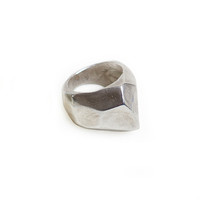 Krystallos Ring - Sterling Silver