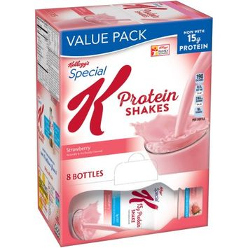 Kellogg's Special K Protein Strawberry Shakes, 10 fl oz, 8 count - Walmart.com