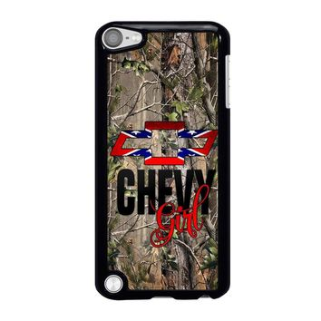 CAMO BROWNING REBEL CHEVY GIRL iPod Touch 5 Case Cover