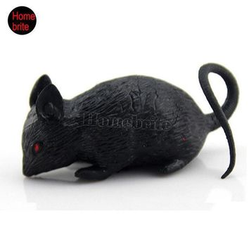 Halloween Props Mouse Novelty Toys Tricky Toys Terror Simulation Mouse Animal Toys Halloween Decoration Masquerade Bar Hw176
