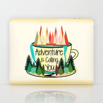 Adventure is Calling You Laptop & iPad Skin by Famenxt