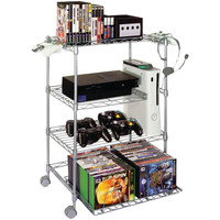 Gamekeeper 4-tier Wire Gaming Tower
