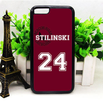 TEEN WOLF INSPIRED STILES STILINSKI JERSEY IPHONE 6 | 6 PLUS | 6S | 6S PLUS CASES