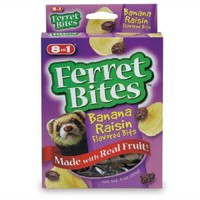 8in1 Ferret Bites Flavored Bits Banana Raisin