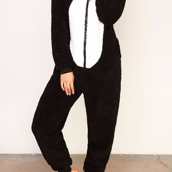 PENGUIN PLUSH ZIP-UP Onesuit