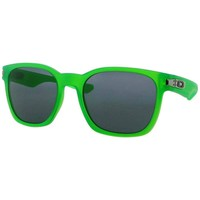 Oakley Garage Rock Neon Green O-Matter Plutonite Sunglasses With Iridium Coating
