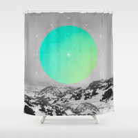 Middle Of Nowhere II Shower Curtain by Soaring Anchor Designs