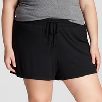 Women's Plus Size Pajama Shorts Total Comfort - Gilligan & O'Malley™