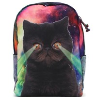 Tigerbear Republik Outlaw Kitschy School Backpack - Womens Backpack -