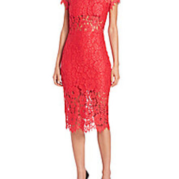 Alexis - Leona Lace Dress - Saks Fifth Avenue Mobile