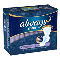 Always Maxi Pads Extra Heavy Overnight with Flexi-Wings   Walgreens