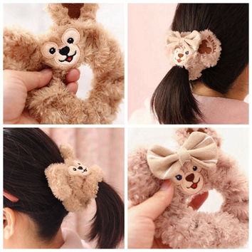 Cute Hot Sale Duffy Bear Shelliemay plush Toy Bear Series Peripheral Circle Velvet Hair
