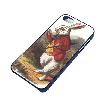 WHITE RABBIT ALICE IN WONDERLAND Disney iPhone 5 / 5S Case