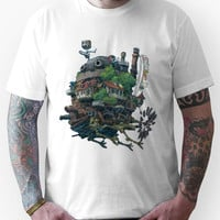 8bit Howl's Moving Castle Unisex T-Shirt