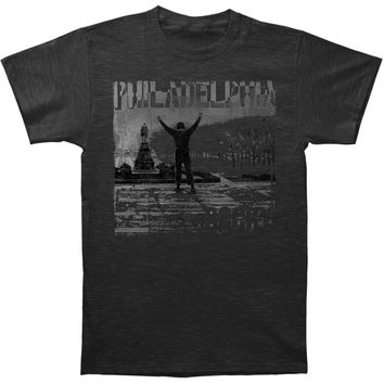 Rocky Men's  Philadelphia Slim Fit T-shirt Grey Rockabilia