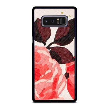 KATE SPADE CAMEROON STREET ROSES 3 Samsung Galaxy Note 8 Case
