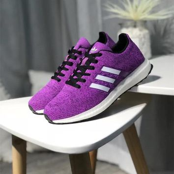 """""""Adidas"""" Women Sport Casual Fashion Knit Running Shoes Sneakers"""