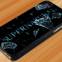 Supernatural Logo Custom for iPhone 4, iPhone 5/5s/5c, Samsung S2/S3/S4, S3/S4 Mini, iPod 4/5, HTC One/ One X Case in ArtLensy