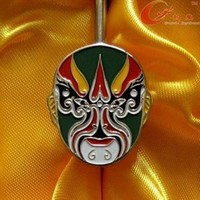 China Unique Beijing Opera Facial Makeup Hook Bookmark Special and Great Gift For Friends (Ten Types
