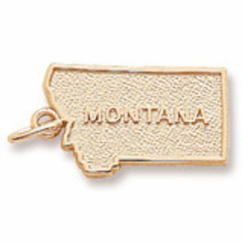 Montana Charm In Yellow Gold