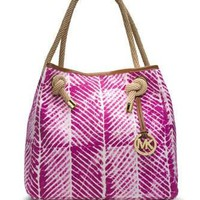 Michael Michael Kors Large Marina Tie Dye Canvas Grab Bag