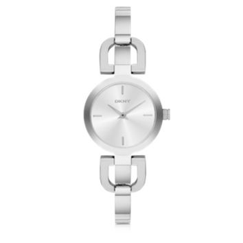 DKNY Designer Women's Watches Reade Silver Tone Stainless Steel Women's Watch