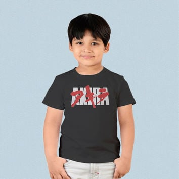 Kids T-shirt - Akira Anime Japan Logo