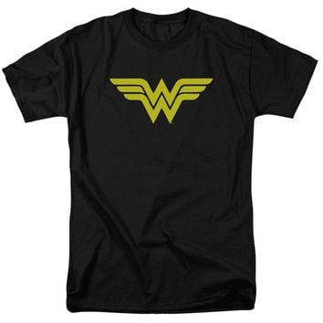 Wonder Woman Logo Short Sleeve Adult 18/1