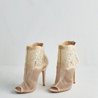 ModCloth Luxe All Unique is Love Heel