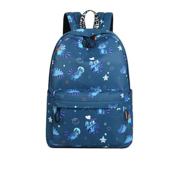 Girls bookbag Coofit New Lovely Cartoon Cat Printing Backpack For Women Girls Fashion Travel Bagpack Laptop Bag School Bookbag mochila escolar AT_52_3